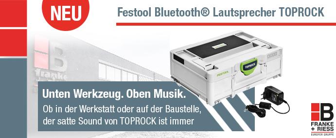 Festool Toprock Bluetooth Lautsprecher