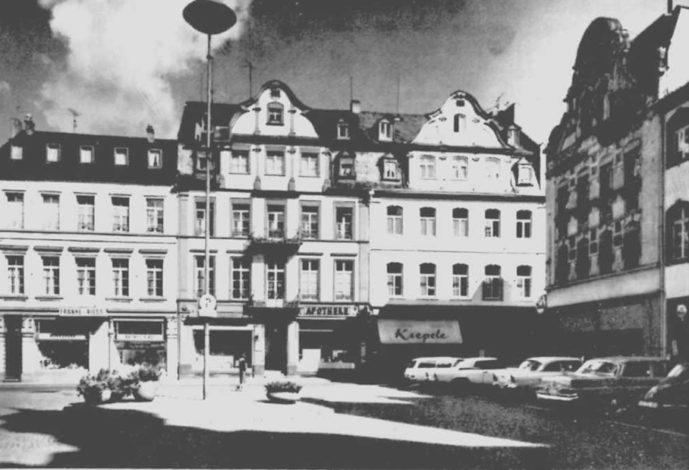Franke & Riess Jesuitenplatz 1965