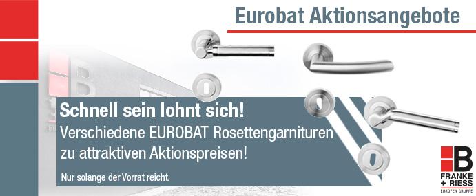 Eurobat Rosettengarnituren Bundbard Profilzylinder